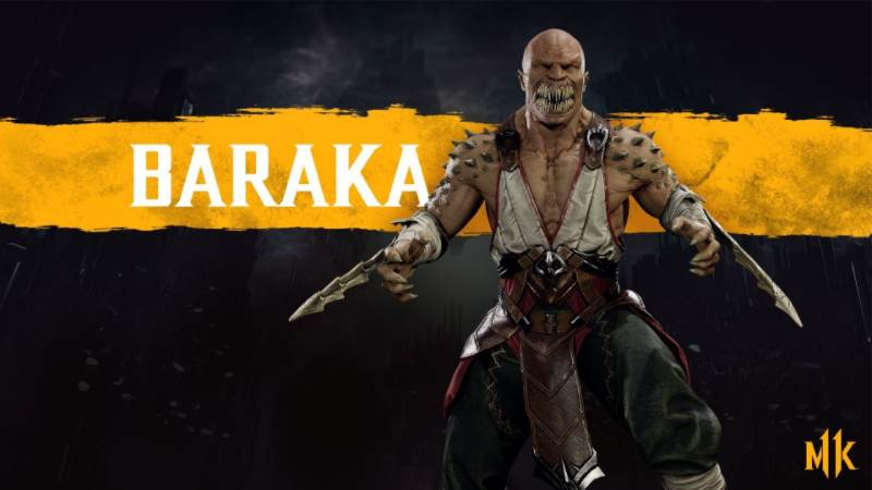 Character Intro Of Baraka