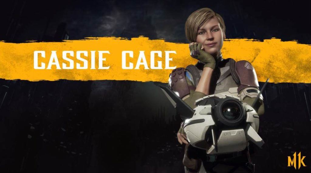 Character Intro Of Cassie Cage