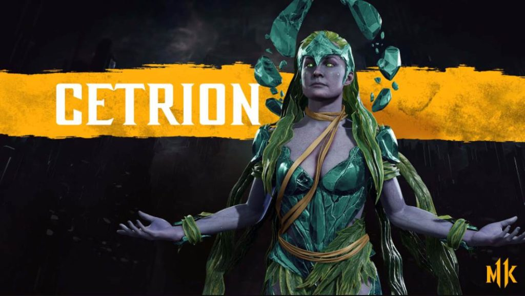 Character Intro Of Cetrion