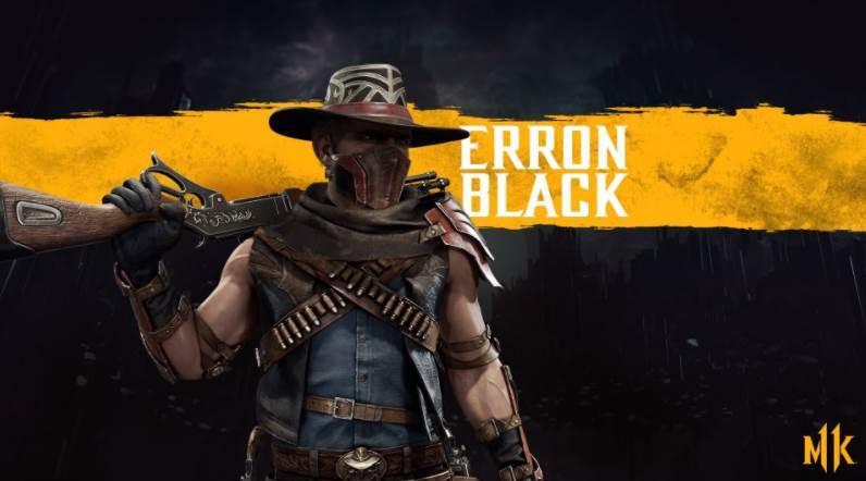 Character Intro Of Erron Black