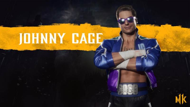 Character Intro Of Johnny Cage