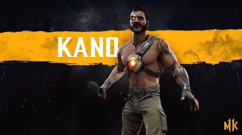 Character Intro Of Kano