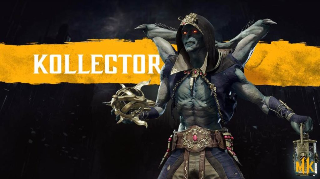 Character Intro Of Kollector