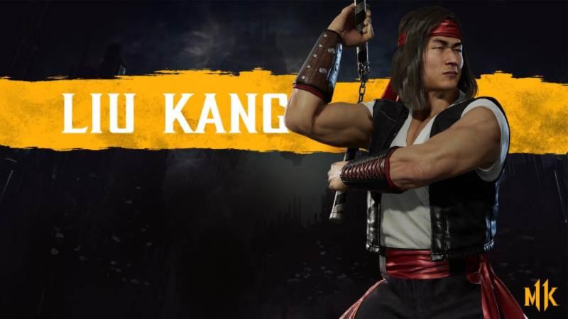 Character Intro Of Liu Kang