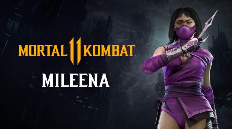 Character Intro Of Mileena