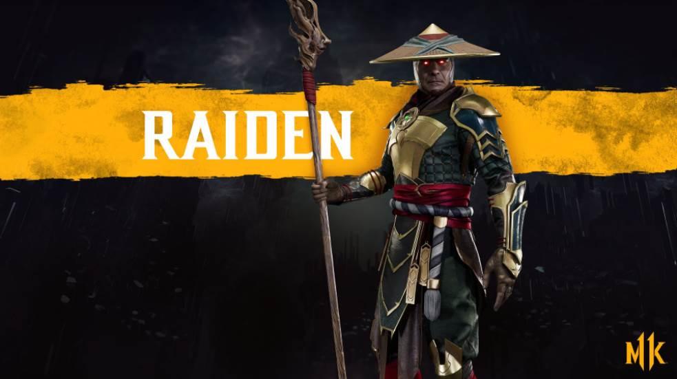 Character Intro Of Raiden