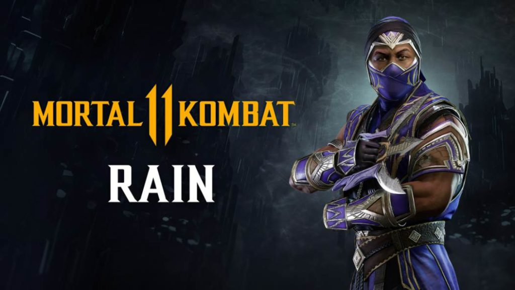 Character Intro Of Rain