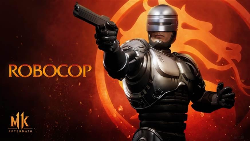 Character Intro Of Robocop