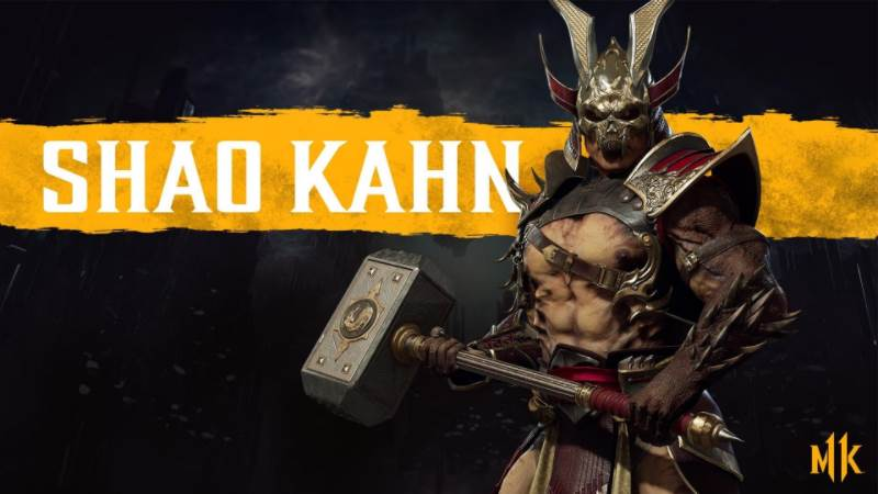 Character Intro Of Shao Kahn