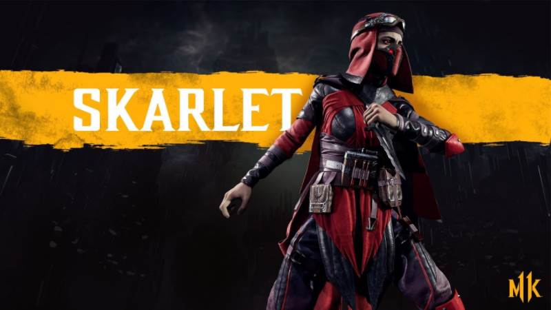 Character Intro Of Skarlet