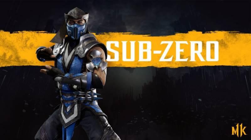 Character Intro Of Sub Zero