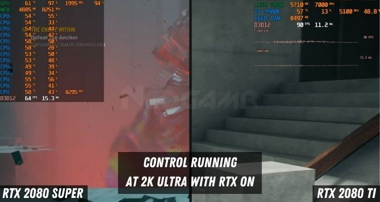 Control at 2k Ultra with rtx on
