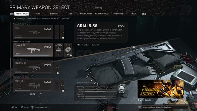 Image of GRAU 5.56 In Call of Duty Warzone