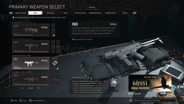Image of ISO In Call of Duty Warzone
