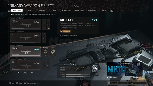 Image of Kilo 141 In Call of Duty Warzone