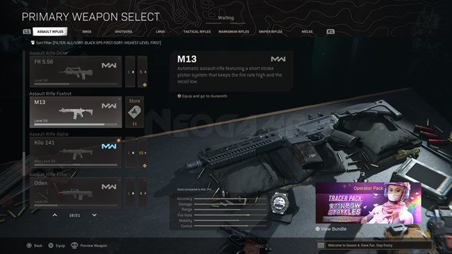 Image of M13 In Call of Duty Warzone