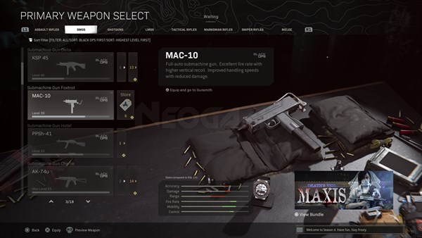 Image of MAC 10 In Call of Duty Warzone