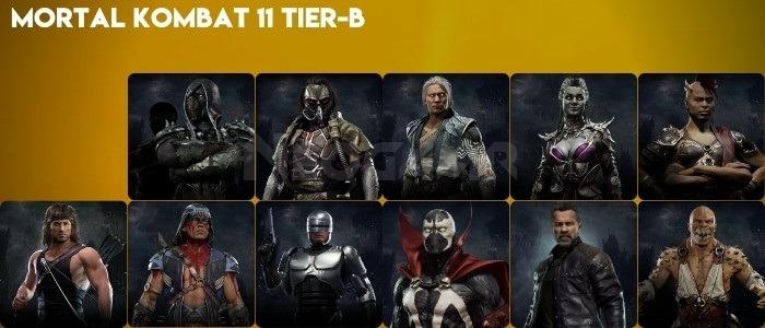 Image of Mortal Kombat 11 Tier B