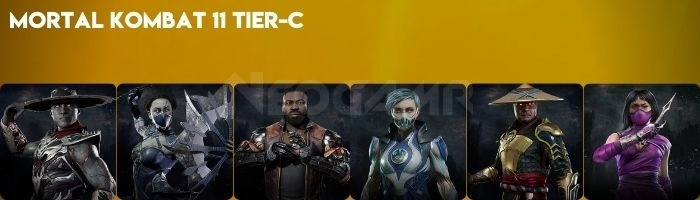 Image of Mortal Kombat 11 Tier C