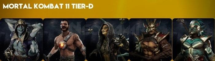 Image of Mortal Kombat 11 Tier D