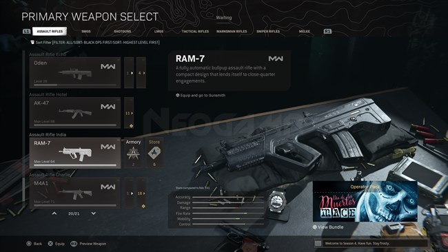 Image of RAM 7 In Call of Duty Warzone