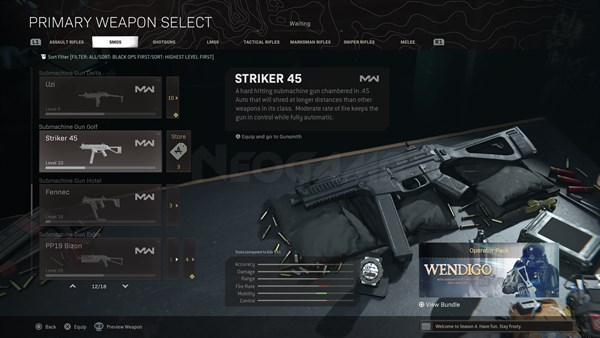 Image of Striker 45 In Call of Duty Warzone