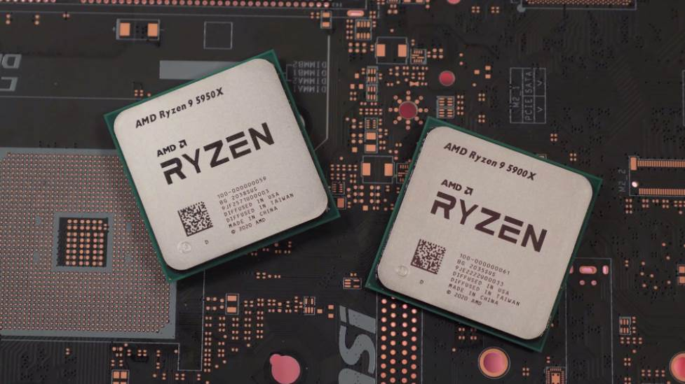 Image of two Ryzen 9 CPUs
