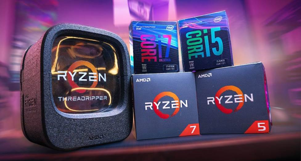 Intel and Ryzen CPU Boxes