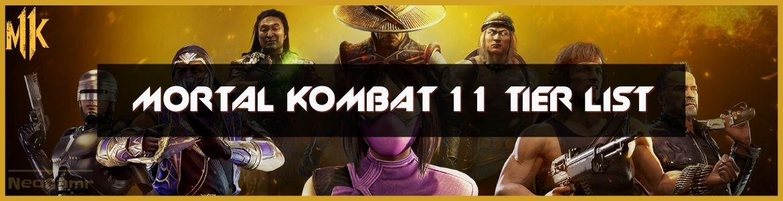 Mortal Kombat 11 Tier List Cover