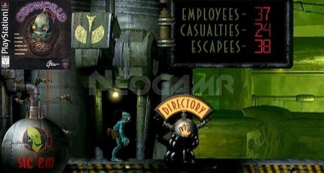 Oddworld Abe's Odyssey ps1