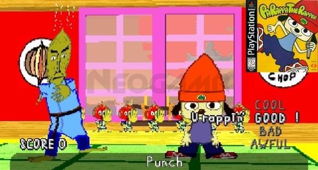 Parappa The Rapper PS1