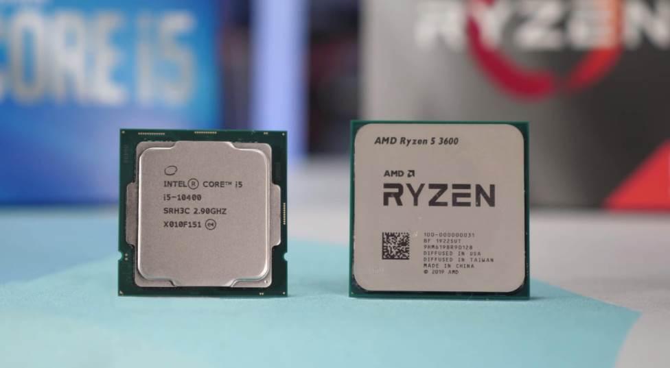 Ryzen 3600 Vs Intel Core i5 10th Gen
