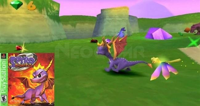 Spyro 2 Ripto's Rage PS1