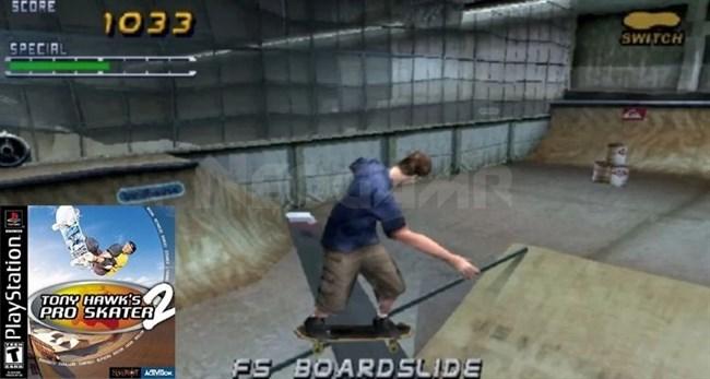 Tony Hawk's Pro Skater 2 PS1