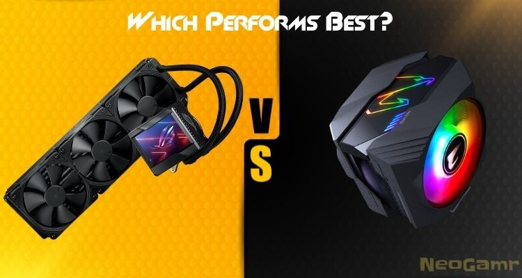 Which Performs Best liquid cooler or air cooler