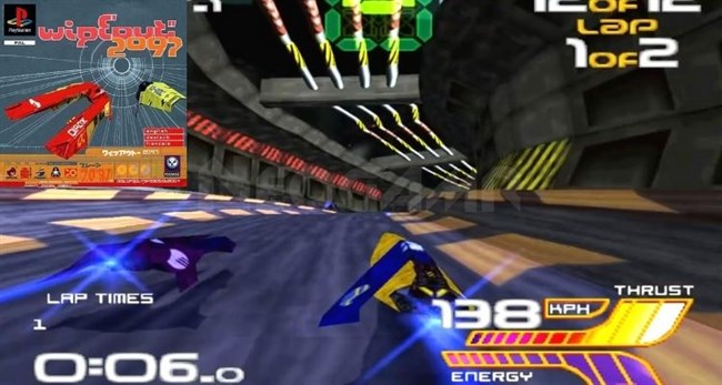 Wipeout 2097 PS1
