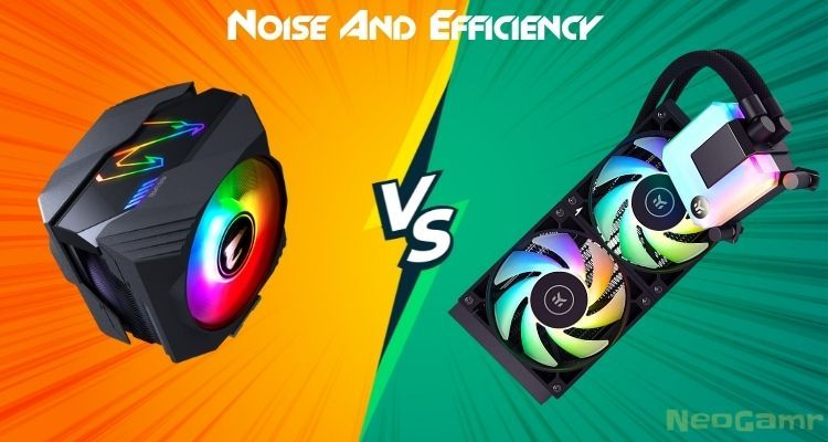 air cooler vs aio for Noise And Efficiency