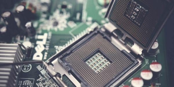Close up image of the CPU Socket