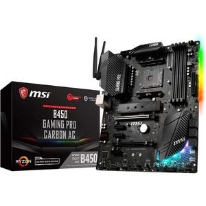 Image of Product 1 MSI B450 Gaming Pro Carbon AC